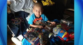 5-Year-Old Battling Cancer Gets Toys
