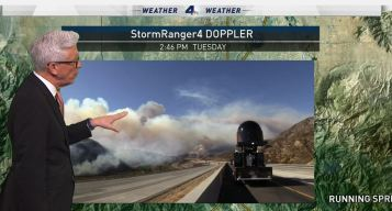 PM Forecast: Heat and Fire Danger