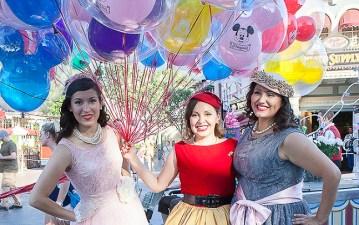 Disneyland Dapper Day on Video