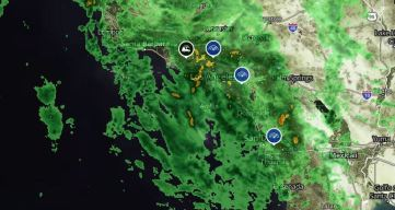 First of Two Storms Drenches SoCal With Morning Rain