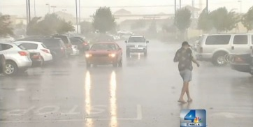 Wild Weather Sweeps Through Inland Empire