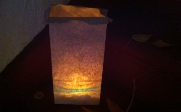 Paper Bags, Candles, Magic: Luminarias OC