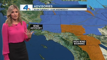 AM Forecast: Wind, Cold in Mountains | NBC Southern California