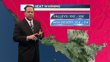 AM Forecast: Excessive Heat Warnings | NBC Southern California