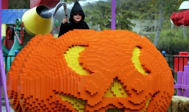 Brick-or-Treating at LEGOLAND