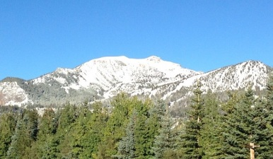 Last Day of Summer: Snow Falls in the Sierra