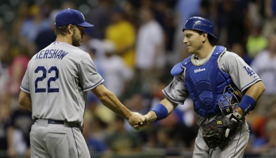 Clayton Kershaw Collects 3-1 Win Over Brewers