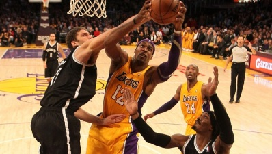 World Peace Suspended, Howard Hurt for Lakers vs. Nets