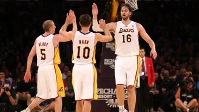 Lakers Practice Report - Nash & Team Identity