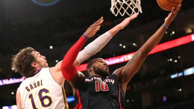Jordan Hill Has Career-night, Lakers Win