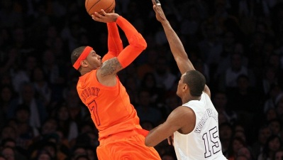 Lakers at Knicks: Carmelo Anthony