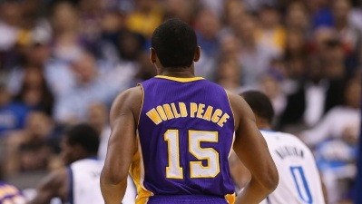 World Peace Injury Update; Lakers Raffle Rings