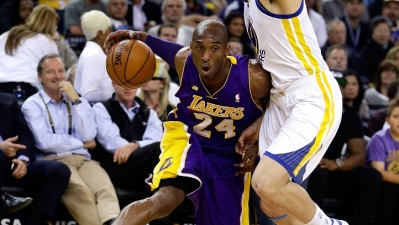 Warriors Hold on Against Kobe and Lakers