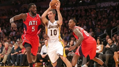 Steve Nash Playing For Lakers Friday