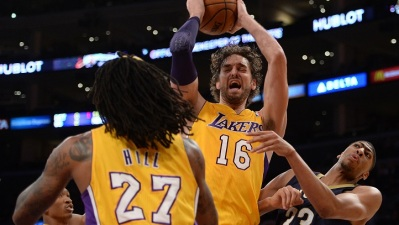Jordan Hill Leads Lakers To Big Win Over Pelicans