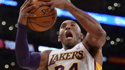 Kobe Bryant Optimistic at Lakers Practice