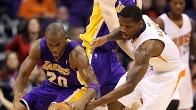Struggling Lakers Meet Stumbling Suns