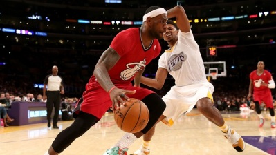 Lakers-Heat: Nick Young v LeBron James
