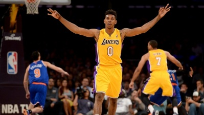 Young Scores 41, as Lakers Beat Jazz