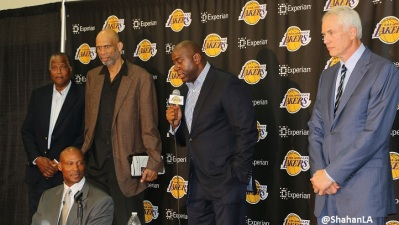 Lakers Legends Return For Byron Scott