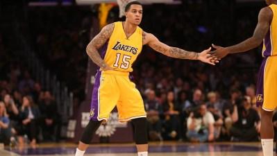 Lakers Host Pelicans, Brown Signs