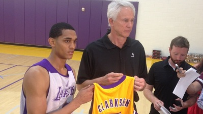 Lakers Introduce Rookie Jordan Clarkson