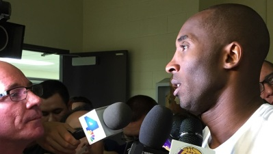 Kobe Bryant, Lakers Complete First Practice