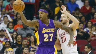 Lakers Host Rockets