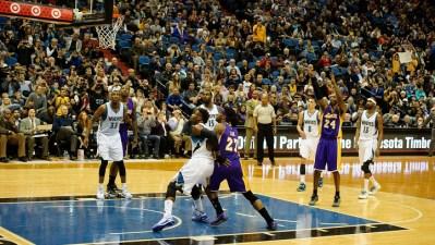 Lakers at Timberwolves