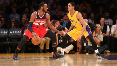 Lakers Run into Wall, Wizards