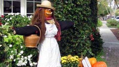Solvang's Scarecrows
