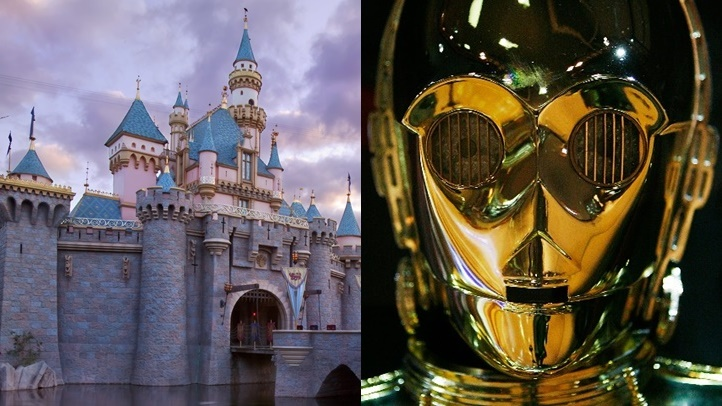 Star Wars Nites lands at Disneyland Resort on Thursday, May 3, 2018. (Paul Hiffmeyer/Disneyland/Getty Images)