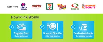 Fast Food Gets You Facebook Credits