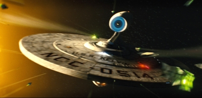 U.S.S. Enterprise Lands in Pomona