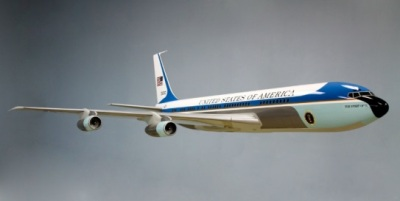 Air Force One Model Lands at Nixon Library