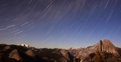 Watch the Perseids at Glacier Point