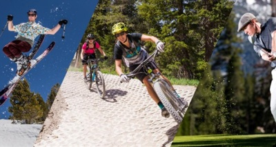 Mountain Trio: Ski/Bike/Golf Challenge
