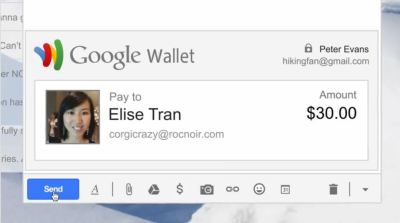 Send Money Through Gmail