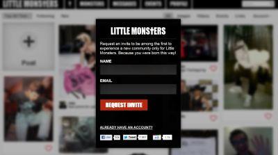 Lady Gaga Starts Social Network