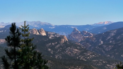 Driving the Sierra Vista Scenic Byway
