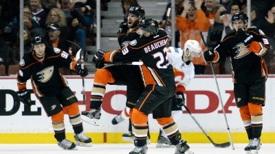 Ducks Defeat Flames, Advance to West Final