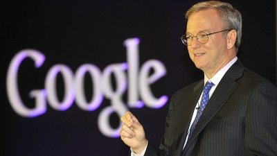 Google's Eric Schmidt Admits Social Media Fail