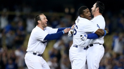 Dodgers Walk Off Again