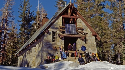 Snow Time: Famous Ski Hut Reopens
