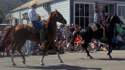 History on Parade: Los Alamos Old Days