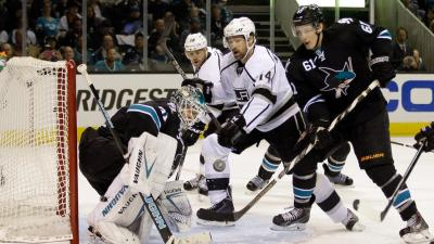 Down 2-0, Kings Have Work to Do to Bounce Back vs. Sharks
