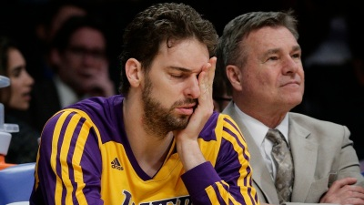 Lakers: Pau Gasol Doubtful - Vertigo