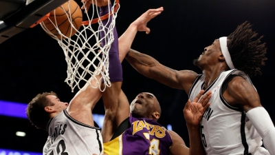 Lakers Face KG, Pierce and Brooklyn Nets