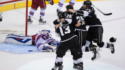 Kings Lose Game 4 to Rangers, 2-1