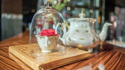 'Beauty & the Beast' Tea at SLS Hotel